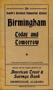 Booklet - Birmingham Today and Tomorrow. History & Forecast © 1906 (5.25 X ...