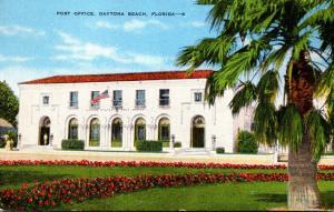 Florida Daytona Beach Post Office 1950