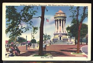 Soldiers and Sailors Monument 89th Street & Riverside Drive New York City