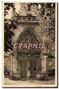 Old Postcard Chateaux of the Loire Chateau Amboise Gate of St Hubert Chapel b...