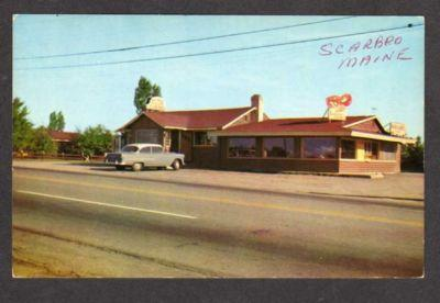 ME Mary & Bob Lobster Pound SCARBOROUGH MAINE Postcard