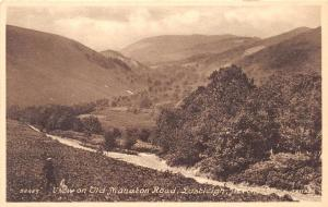 LUSTLEIGH DEVON UK VIEW ON OLD MANATON ROAD FRITH SERIES #58459 POSTCARD