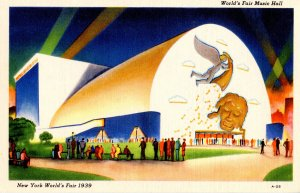 NY - New York World's Fair, 1939. Music Hall