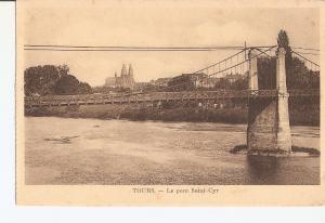 Postal 027005 : Tours. Le point Saint-Cyr
