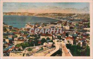 Modern Postcard Marseille Port Vue Generale