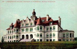 Washington Seattle Administration Building University Of Washington