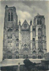France bourges la cathedrale Postcard