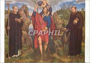 Postcard Modern Hans Memling (1430 1494) Saint Kitts and Saint Maur Saint Gilles