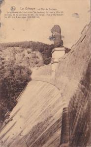 Belgium Gileppe La Mur du Barrage