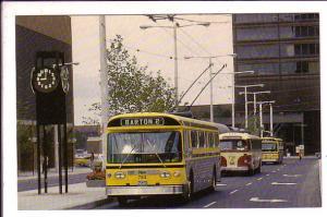 Hamilton Street Railway, Ontario, Trolley Coach Bus