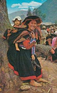 Native Girl , PISAC , Cusco , Peru , 1975