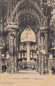 France Chartres La Cathedrale La Vierge du Pilier