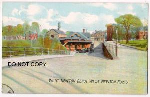 West Newton Depot Mass