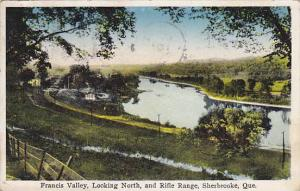 Francis Valley, Looking North, & Rifle Range, Sherbrooke, Quebec, Canada, PU-...