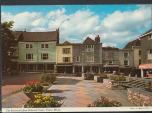 Devon Postcard - The Butterwalk From Birdwood Court, Totnes    RR4853