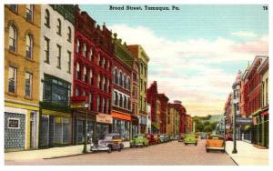 Pennsylvannia Tamaqua , Broad street