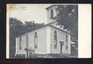 LANESBORO PENNSYLVANIA METHODIST CHURCH ANTIQUE VINTAGE