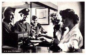 New Jersey  Fort Dix Placing a Telephone Call
