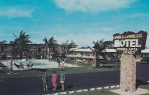 FORT LAUDERDALE, Florida 50-60s Towne & Country Motel