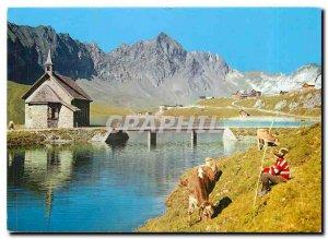Postcard Modern Melchsee Frutt Zentralschweiz Sommer Und Winterkurort