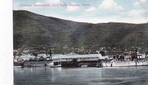 DAWSON , Y.T. , Canada , 00-10s ; Canadian Developement Co. Dock