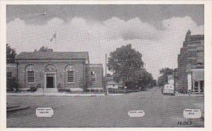 Indiana Union City State Line Main Street Dexter Press