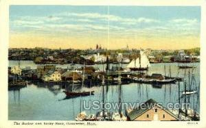 Harbor, Rocky Neck Gloucester MA 1956