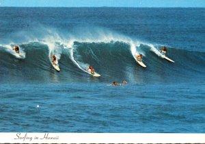 Hawaii Waikiki Beach Surfing In Hawaii