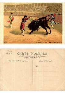 CPA Bullfighting - Suerte de Banderillas (776045)