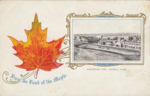 ARCOLA , Saskatchewan , Canada , 1901-07 ; Railroad Avenue
