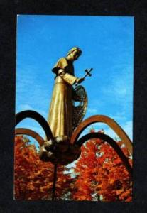MI Shrine Snowshoe Priest L'ANSE MICHIGAN POSTCARD