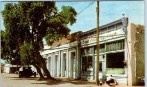 TOMBSTONE, AZ Arizona    STREET SCENE   1941  Union Oil Co   Postcard