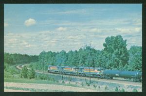 Seaboard Coast Line Family Lines System COLLIER YARD Virginia Railroad Postcard