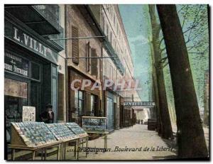Postcards Old Postcards Commerce Boulevard Draguignan freedom Villy Perrimond...