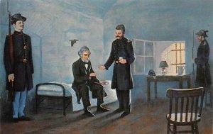 Jefferson Davis and Dr. Craven Fort Monroe, Virginia, USA Civil War Unused
