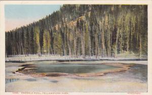 Scenic view,Emerald Pool,Yellowstone Park,Wyoming,00-10s