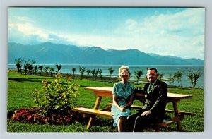 Anchorage AK-Alaska, Pastor Rex Lindquist Chapel By the Sea Greeting Postcard