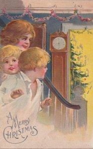 CHRISTMAS ; Three Children , 1910