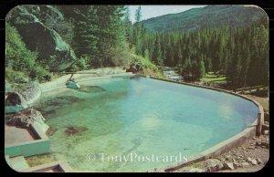 Granite Hot Springs Swimming Pool