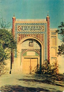 Postcard Uzbekistan Bukhara Toqi Sarrofon Bazaar gate