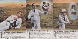 The Sands Of The Desert Grow Cold Full Songcard Set Postcard s