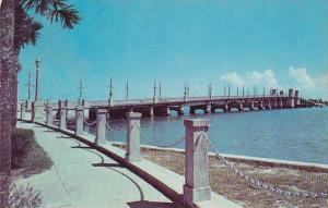 Florida Saint Augustine Bridge Of Lions