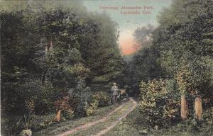 LAMBETH , Ontario , Canada , PU-1912 ; Driveway , Alexandra Park