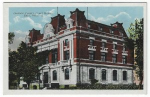 Enid, Oklahoma, Vintage Postcard View of Garfield County Court House