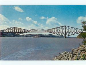 Quebec Canada Quebec Bridge  Postcard # 5827