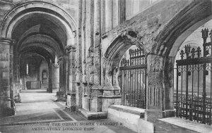 Bartholomew The Great North Transept Ambulatory Looking East Psotcard
