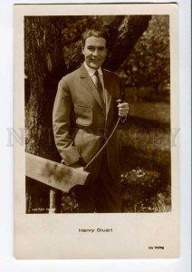 3006825 Henry STUART Famous German MOVIE Star Vintage photo PC