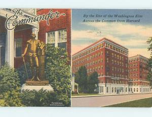 Linen COMMANDER HOTEL Cambridge Massachusetts MA Q7148