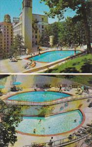 Arlington Hotel and Swimming Pool Hot Springs Arkansas