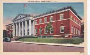 Virginia Charlottesville Post Office